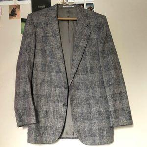 Authentic Vintage Yves Saint Laurent Grey Blazer